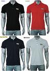 Uomo Emporio Armani EA7 Polo Pique Tshirts Maglietta 4 Colore S-M-L-XL-XXL Nuovo