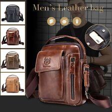 Genuine Leather Men Messenger Bag Casual Business Men's Handbag Bag Shoulder Bag