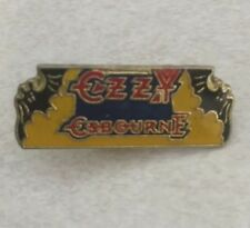 Vintage Ozzy Osbourne Metal Lapel Pin New From Late 80'S Heavy Metal