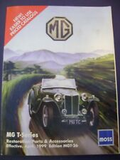 MG Car Restoration Parts and Accessories catalogue/magazine 1999