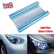 1X Light Blue 30cm x 120cm Tint Film Headlights Tail lights Car Fog Vinyl Wrap