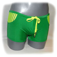 WJ - Swimwear Boxer Grün XL - extra heiß -  (494)