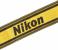 Nikon Camera Neck official Strap AN-6Y Yellow Made in JAPAN