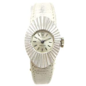 ROLEX Chameleon Precision Ref.2000 Manual-winding Wristwatch K18/WG 05659