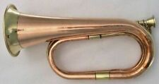Brass Copper Army Cavalry Trumpet Bugle Retro Musical Instrument Charge