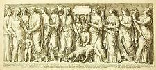 Mariage à l'antique : bas relief de l'église Saint Laurent François Perrier 1645