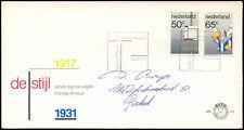 Netherlands 1983 De Stijl Art Movement FDC First Day Cover #C27817