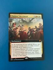 Outlaw's Merriment Extended Art MTG Throne of Eldraine Collector Booster