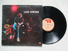 """LP 33T CREAM """"Live"""" RSO 2394 154 ENGLAND §"""