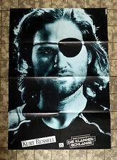 "JOHN CARPENTER * KLAPPERSCHLANGE - A1-FILMPOSTER ""B""- Escape from New York ´81"