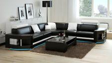 Ledersofa Sofa Couch Wohnlandschaft Ecksofa Garnitur Design Modern Sofa K5012B