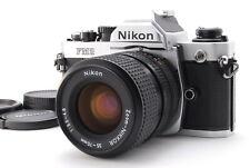 【】Nikon New FM2 FM2N SLR + Ai-s Nikkor 35-70mm f/3.5-4.8 (110-KE22)