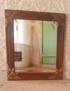 Mirror Of Years 40, Wooden And Stucco