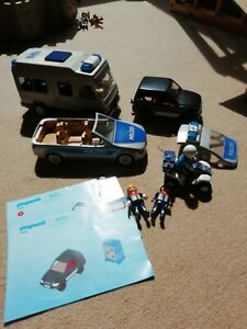 Playmobil polizei konvolut
