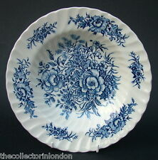 Hostess Beacon Hill Blue Pattern Rimmed  Soup Dessert or Pasta Plates 23cm - VGC