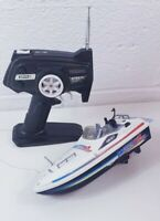 NIKKO Water Star Vintage RC Boat Toy Collectable Retro 1980s 1990s