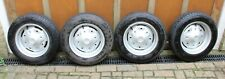 4x Classic Fiat 500 R Fiat 126 MK1 road wheels and tyres in very good condition