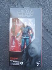Star Wars Black Series 6? CARA DUNE 101 Hasbro Mandalorian  used,has been opened