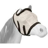 Tough-1 Miniature Horse Mesh Fly Mask without Ears with Two Elastic Straps