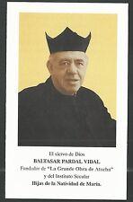 Estampa del Fundador Baltasar andachtsbild santino holy card santini