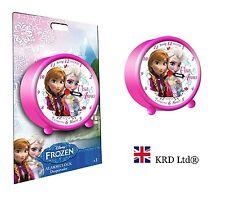 Ufficiale Disney congelato Orologio Sveglia Bambini Ragazzi Ragazze Anna Elsa festa di compleanno regalo