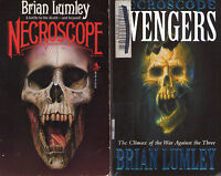 Complete Set Series - Lot of 14 Necroscope Books by Brian Lumley Horror Vamphyri