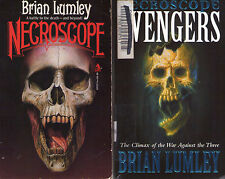 Complete Set Series - Lot of 14 Necroscope Books by Brian Lumley (Horror)