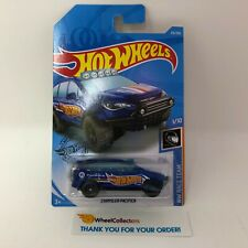 Chrysler Pacifica #215 * BLUE * 2019 Hot Wheels Case M