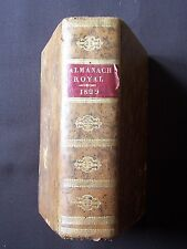 Almanach Royal 1829