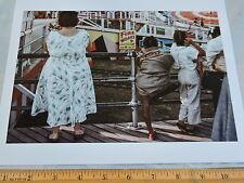1965 Steeplechase Coney Island Brooklyn NYC New York City Color Photo