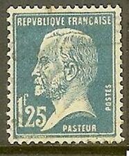 "FRANCE TIMBRE STAMP N° 180 "" TYPE PASTEUR , 1 F 25 BLEU "" OBLITERE TB"
