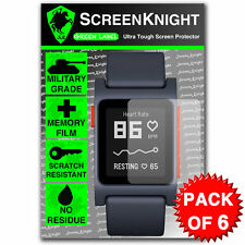 ScreenKnight Pebble 2 - Pebble 2 SE SCREEN PROTECTOR - Military Shield - 6 Pack