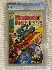 1970 Fantastic Four #99 CGC 9.4
