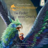 CORNELIA FUNKE - DRACHENREITER-DIE FEDER EINES GREIFS  10 CD NEU