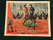 "Michael Strogoff 1960 Continental 11x14"" lobby card Curt Jurgens"