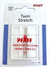 Pfaff Stretch / Jersey Zwillingsnadel 130/705 H-ZWI-E Stärke 2,5/75 für Pfaff...