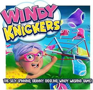 Ideal Windy Knickers Fun Children Action Board Game