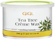 GiGi Tea Tree Creme Wax 14 oz / 396 gm - FAST Shipping