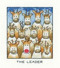 Heritage Crafts Cross Stitch Kit - The Leader