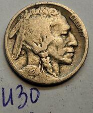1924 US 5 Cent Buffalo Nickel United States Coin  U30