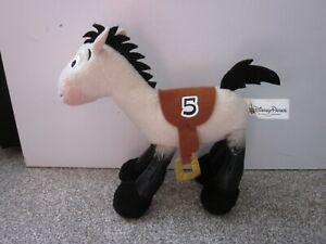 Disney Parks Toy Story Plush #5 Bullseye Tan & Black Race Horse Racing Horse