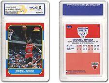 1996 Fleer Michael Jordan Decade Of Excellence Rookie #4 10 GEM-MT Chicago Bulls