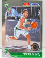 Tremont Waters RC 2019-20 NBA Hoops Premium Stock Chrome Rookie Card #237 Boston