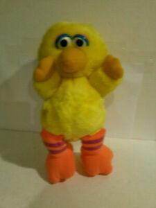 Big Bird Hasbro softies Sesame Street plush 1980s era