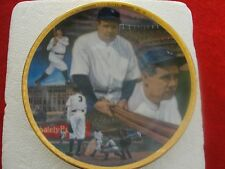 "Babe Ruth ""The Sultan of Swat"" Mini Collector Plate, 1992"