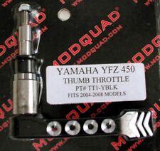 MODQUAD Thumb Throttle Lever Yamaha YFZ 450 2004-2008 Black