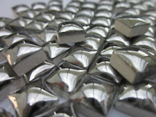 "450pcs Micro Mosaic Tiles Silver Metallic 3/8"" stock in US"