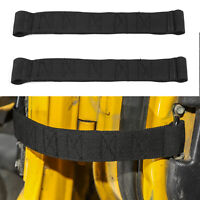 Black 2x Car Door Limit Strap Bandage Rope Fits  Wrangler TJ 1997-2006 AU