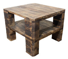 Palettenmöbel Regal Vintage Regal aus hellem Palettenholz Tisch Couchtisch