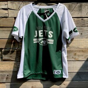 🌻Majestic NY Jets Short Sleeve Shirt Size XXL {NEW WITH TAGS!}